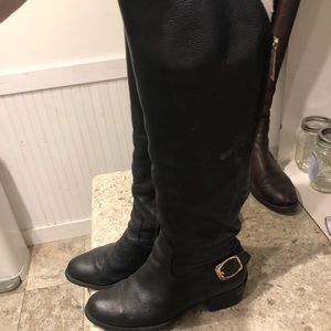 Vince camuto tall black riding boot